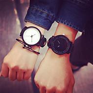 Break Couple Creative Cool Waterproof Minimalist Unisex Quartz Rubber Strap Relogio Wristwatch Casual Women Watches