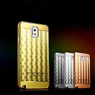 Aluminum Metal Frame + Acrylic Back Cover Case Bags Diamond Skin Surface For Samsung Galaxy Note 2/Note 3/Note 4/Note 5