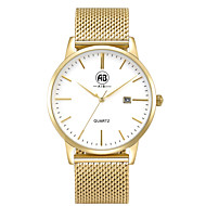 AIBI® Men's Fashion Watch Calendar Water Resistant Golden Business Desinger Dress Watch For Men Wrist Watch Cool Watch Unique Watch With Watch Box