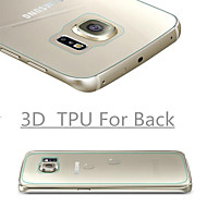 3D Full Coverage High Definition TPU Prevent Scratch Screen Protector For Samsung Galaxy S6 edge(Back)