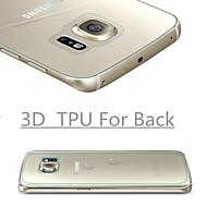 3d volledige dekking high definition TPU voorkomen kras screen protector voor de Samsung Galaxy s6 rand plus (terug)