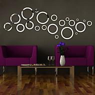 Vormen / 3D Wall Stickers Spiegel muurstickers , PS 130*46cm