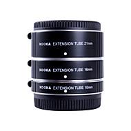 KOOKA KK-FT47A AF Aluminium Extension Tubes Set for Olympus Panasonic Micro 4/3 System  (10mm,16mm,21mm) Cameras