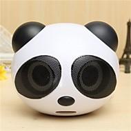forma simpatico panda altoparlante stereo portatile per il tavolo taccuino del computer portatile del cellulare