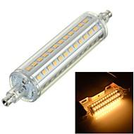10W R7S LED-maissilamput Upotettu jälkiasennus 72 SMD 2835 800-1000 lm Lämmin valkoinen Koristeltu AC 220-240 V 1 kpl