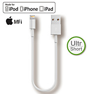 HXINH MFi Lightning to USB Charger SYNC 20cm Short Cable for iphone5 6 6s plus,iPad air mini pro Special for Power Bank