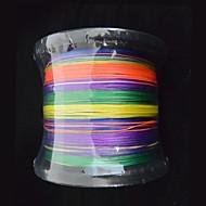 1000m anmnka színes 8stand márka szuper erős Japánban több szállal pe fonott damil 8 ~ 80 £