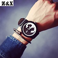 Men's Fashion Personality Leather Quartz Analog Watch(Assorted Colors) Cool Watch Unique Watch