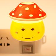 kreatives Design Lächeln Gesicht förmigen Keramik-Lampe Nachtlicht Nachttischlampe Duft