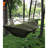 SWIFT Outdoor® 250x120cm Portable Army Green High Strength Parachute NylonCamping Mosquito Hammock