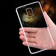 Για Samsung Galaxy Note Εξαιρετικά λεπτή / Διαφανής tok Πίσω Κάλυμμα tok Μονόχρωμη TPU Samsung Note 5 / Note 4 / Note 3