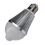 E26/E27 - 9 - W - 18 - 720LM - LM - 2700-3000K or 6000-6500K - Κ - Θερμό Λευκό/Ψυχρό Λευκό - BA/BR/Η - Αισθητήρας -Σφαιρικές Λάμπες/Λαμπτήρες LED