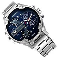 os homens assistir dz quartzo esportes impermeáveis calendário autêntico relógio de pulso tira montre reloj relogio masculino