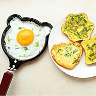 sarjakuvahahmoja pannulla paistettuja munia Mini ilman kantta paistinpannu