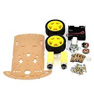 Smart-auton alustan Kit Arduino (toimii virallinen arduino levyt)