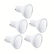 5pcs GU10/MR16 120º 9W 9 SMD 2835 700 LM Warm White/Cold White LED Spot Bulb AC100-240V