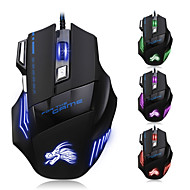 7 Button LED Optical USB Wired 5500 DPI Gaming PRO games Mouse For Pro Gamer
