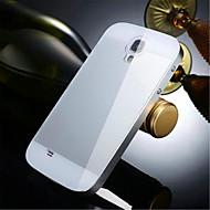 két-in-one kx márka fém keret akril tükör hátlap fém kemény tok Samsung Galaxy S4
