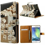 Good Quality PU Leather Flip Case Mobile Phone Holster for Samsung Galaxy A3/A5/A7