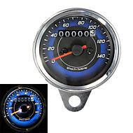 motocicleta odômetro liderada& bitola métrica tacômetro 0-140km / h