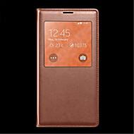 Original-Bildschirm sichtbar PU-Leder Smart-Auto-Sleep-Chipsatz und wasserdichte Unterlage für Samsung-Galaxie s5 (farblich sortiert)