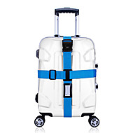 Travel Travel Luggage Strap / Coded Lock Luggage Accessory Durable / Adjustable Plastic