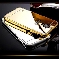 DUBAI® Luxury Super Thin Shine Acrylic Mirror Cover Back Plating Metal Frame Full Body Case for Samsung Galaxy S5