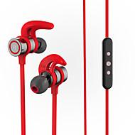 graves potentes de sudor magnética estéreo deporte inalámbrica Bluetooth 4.1 del auricular del soporte de auricular apt-x