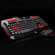 høy kvalitet trådløs datamaskin tastatur 2400dpi mus batteri og batteri 3 stykker et sett