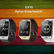 в первую очередь NFC Bluetooth смарт часы gv18 SmartWatch камера GSM SIM-карты для IOS и андроид телефон