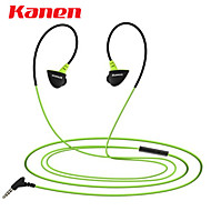 Kanen S30 In-Ear Mini Lightweight Earphones Headphones Sports/Running Earbuds Headphones Headsets with Microphone
