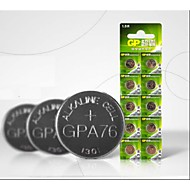 GP A76 LR44 AG13 L1154 1,5 бытовые батареи 10pcs