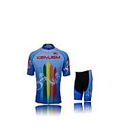 Conjuntos de Roupas/Ternos ( Verde / Azul ) - de Ciclismo - Unissexo -Impermeável / Respirável / Isolado / Secagem Rápida / Á