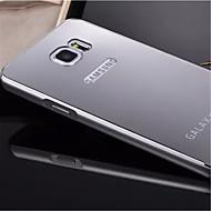 Για Samsung Galaxy Note Επιμεταλλωμένη / Καθρέφτης tok Πίσω Κάλυμμα tok Μονόχρωμη Μεταλλικό Samsung Note 5 Edge / Note 5 / Note 4 / Note 3
