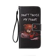 Mert Samsung Galaxy tok Kártyatartó / Pénztárca / Állvánnyal / Flip / Minta Case Teljes védelem Case Szó / bölcselet Műbőr mert Samsung
