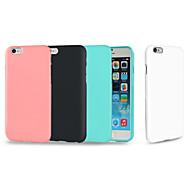 Til iPhone 8 iPhone 8 Plus iPhone 7 Plus iPhone 6 iPhone 6 Plus Etuier Stødsikker Bagcover Etui Helfarve Blødt TPU for Apple iPhone 8