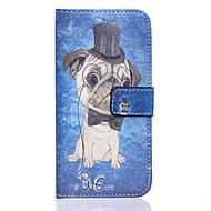 Για Samsung Galaxy Θήκη Πορτοφόλι / Θήκη καρτών / με βάση στήριξης / Ανοιγόμενη tok Πλήρης κάλυψη tok Σκύλος Συνθετικό δέρμα Samsung S7