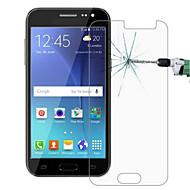 explosieveilige premium gehard glas filmdoek beschermkap 0,3 mm gehard membraan boog voor de Samsung Galaxy j2