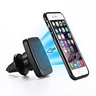 2016 moda única desingn coche magnética soporte para teléfono salida de aire de montaje para iPhone6 más / iPhone6 / 5s iPhone5