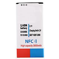 3.7v 3800mah li-ion batteri med NFC for samsung s5 i9600