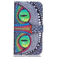Na Samsung Galaxy Etui Etui na karty / Portfel / Z podpórką / Flip Kılıf Futerał Kılıf Sowa Skóra PU Samsung J7 / J5