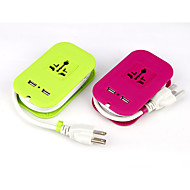 Gujia GDP-01 1.5A 110V-250V With USB Home Charger With 1.25M Power Cord