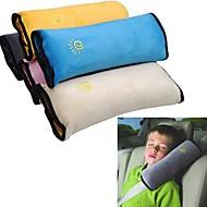ziqiao Baby bil sikkerhedssele beskytte skulder pad justere køretøjets sikkerhedssele pude for børn børn (tilfældige farver)