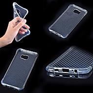 Mert Samsung Galaxy tok Ütésálló / Átlátszó Case Hátlap Case Egyszínű TPU Samsung A7(2016) / A5(2016) / A3(2016) / A9 / A8 / A7 / A5 / A3