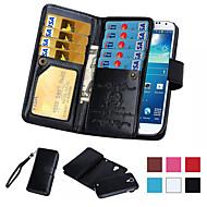 サムスンギャラクシーS4 / S5 / S6 / S6エッジ/ S6エッジ+ / S7 / S7エッジ/ S7エッジ用の磁気2 1で財布レザーケースプラス