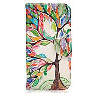 Για Samsung Galaxy S7 Edge Πορτοφόλι / Θήκη καρτών / με βάση στήριξης / Ανοιγόμενη tok Πλήρης κάλυψη tok Δέντρο Συνθετικό δέρμα SamsungS7