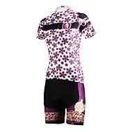PALADIN Wielrennen Pakken/Kledingsets / Shirt Dames Fietsen Ademend / Sneldrogend / Achterzak Korte Mouw Rekbaar100% Polyester / Textiel