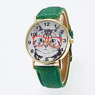 Hot Sale Leisure Cute Wristwatch Special dial Printing  Unisex Wristewatch Cool Watches Unique Watches Fashion Watch