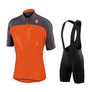 KEIYUEM אופנייים/רכיבת אופניים טייץ רכיבה על אופניים / מדים בסטים לגברים / יוניסקס שרוול קצרעמיד למים / עמיד לאבק / עמיד / חומרים קלים /