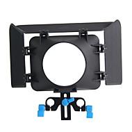 yelangu® matte box yelangu caméra noir en abs pour appareil photo numérique